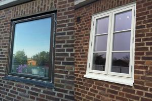 Före & Efter bilder från dörr- och fönsterbyte i Helsingborg