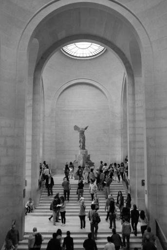 Victoire de Samothrace dans le Musée du Louvre