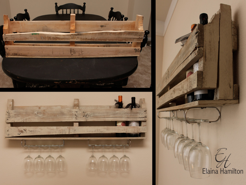 Diy Wine Storage Rack Diy Wine Rack With Stemware Storage Elaina Hamilton