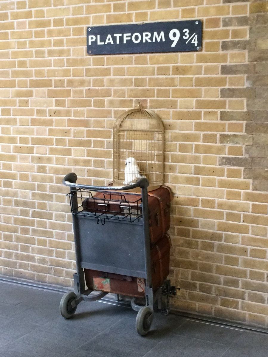 Platform 9 3/4 and other London sights of the week