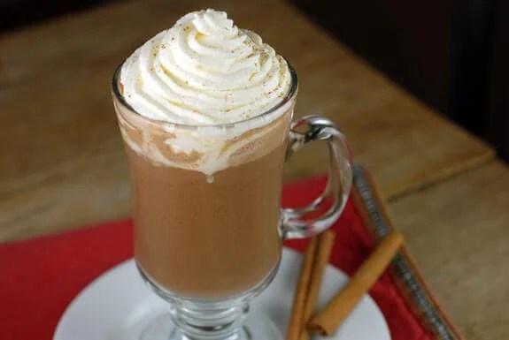 Paleo Cinnamon Hot Chocolate Mix