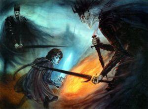 Un cuchillo en la oscuridad, según John Howe