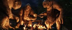 Los Trolls cenan carnero asado