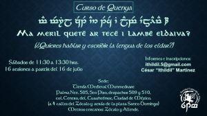 Curso Quenya de la Sociedad Tolkiendili de Mexico