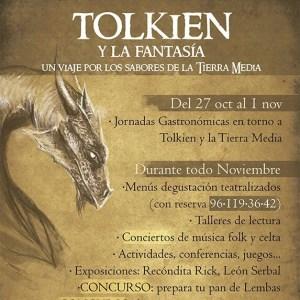 jornadas gastronomicas en torno a Tolkien y la Tierra Media 2016 - cartel - copia