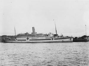 HMHS Asturias (Le Havre, marzo 1916) © IWM (Q 58311)