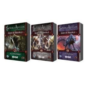 Tres nuevos mazos de pesadilla para El Señor de los Anillos. El juego de cartas (LCG)