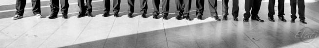 Unique idea for groom's shoes