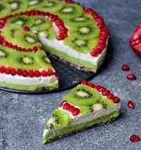 Fruchtiger Kuchen ohne zu backen | vegan, gf - Elavegan