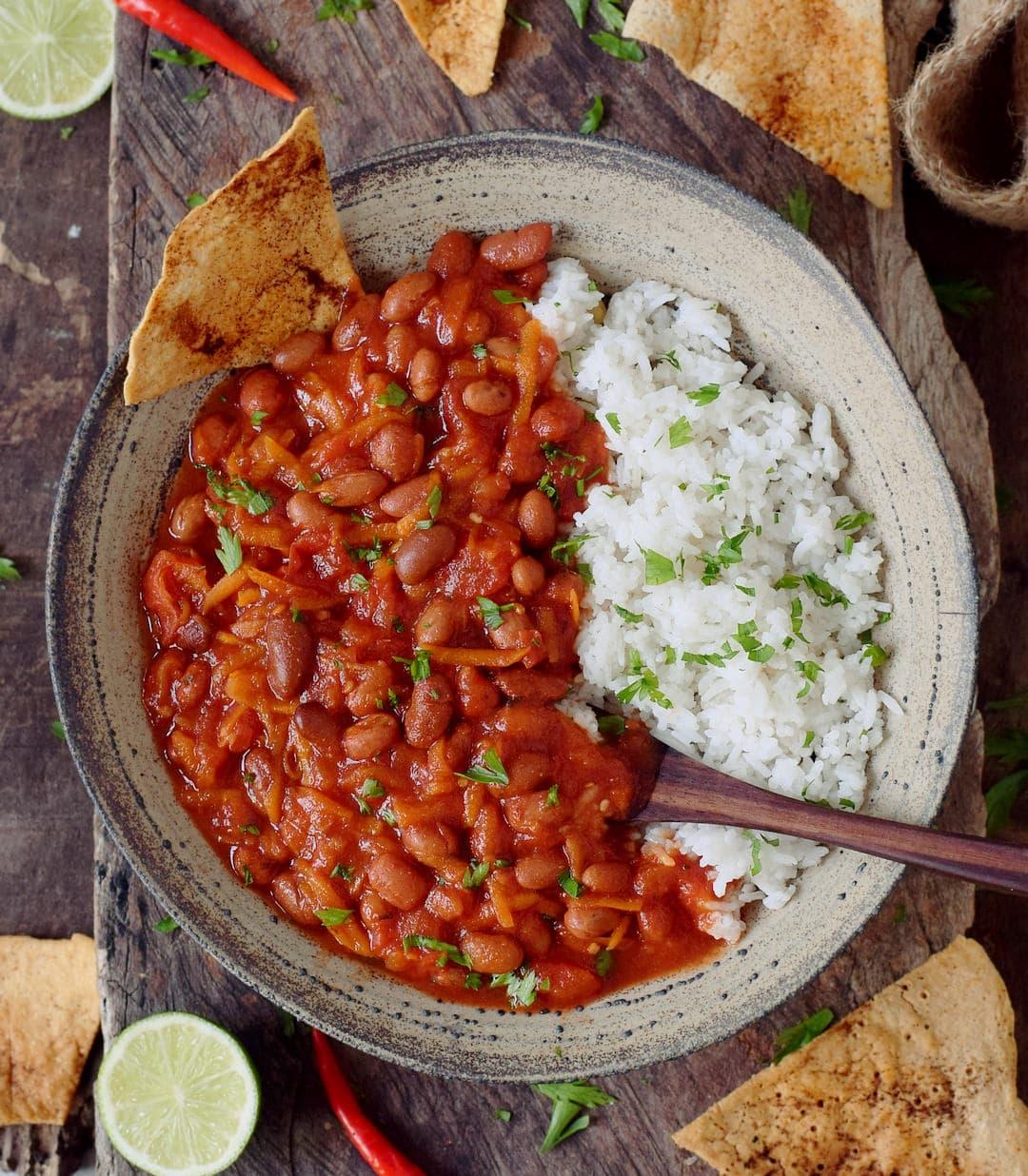 Rezepte Leichte Küche Ohne Fleisch | Gemüse Reis Pfanne Aus Dem Ofen