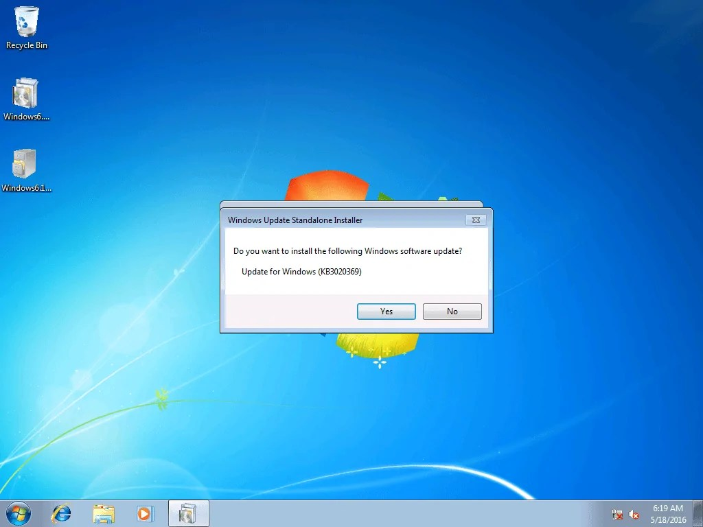???7??? Install Update Kb3125574 On Windows Embedded Standard 7