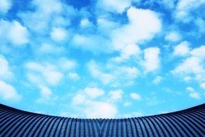 """Esta imagen hace referencia a """"la nube"""" como espacio informático intangible."""