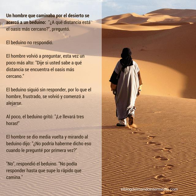 Historia del beduíno