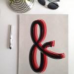 11x14 Ampersand Print