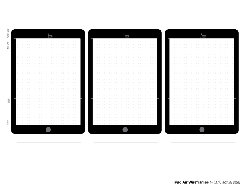 iPad Air2 Wireframe - scaled