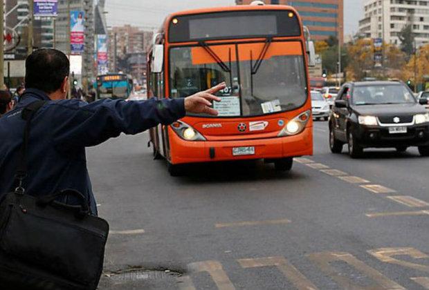 Buses en Santiago
