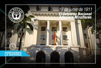 Venezuela adquiere el Palacio de Miraflores
