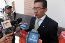 Jefe de Juventudes, Recreación y Deportes, Luis Zeballos Mendoza.
