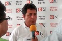 Nison Flores, dirigente nacional de los mineros informales