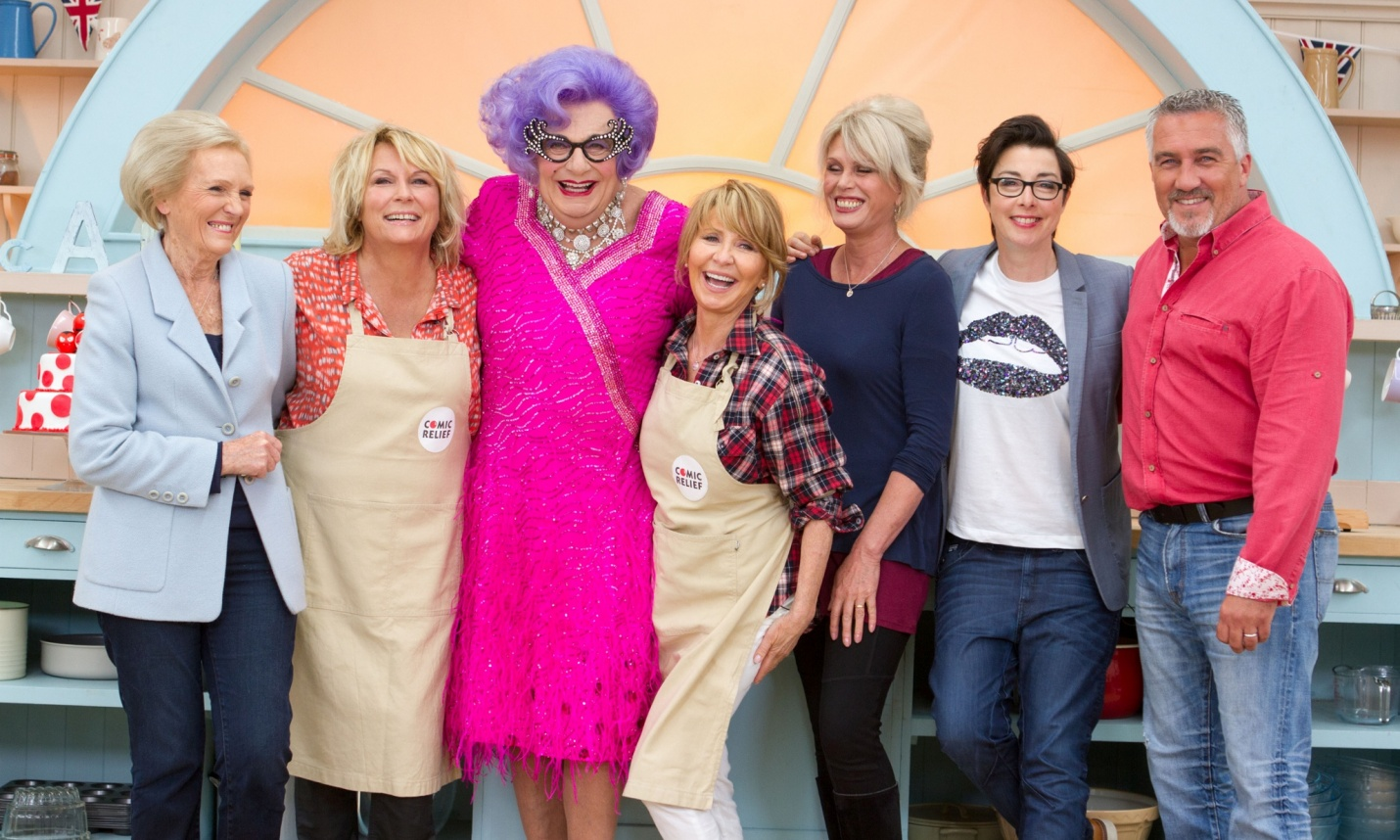 Suelen Travesti Nuestro Radar Travesti Se Activa The Great Comic Relief Bake Off