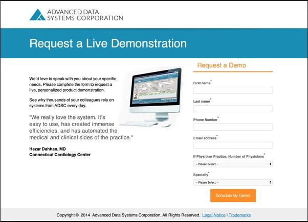 request a live demo