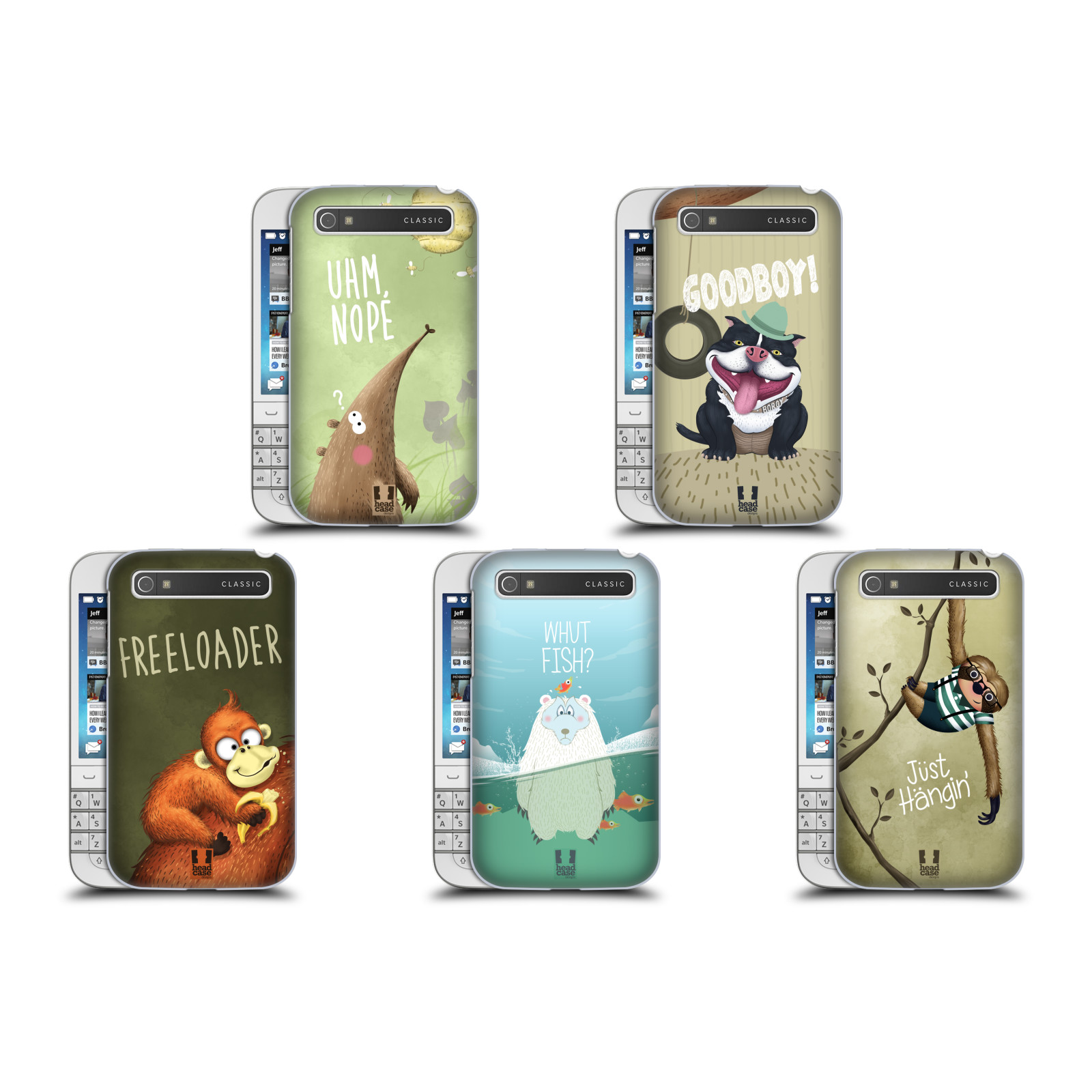 Blackberry Q10 Libre Head Case Designs L 39animal Raille Étui Coque Pour