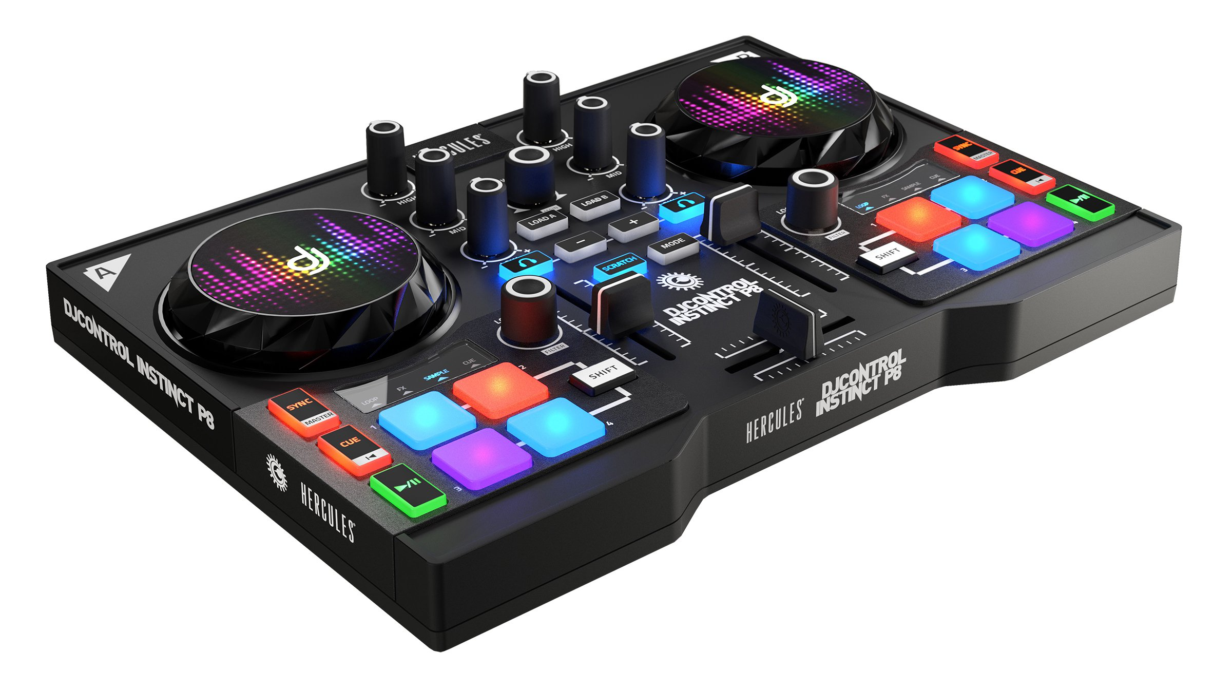 Mesa De Mezclas Dj Para Pc Review Hercules Djcontrol Instinct P8 Party Pack