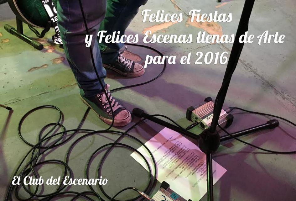Navidades 2015_El club del escenario
