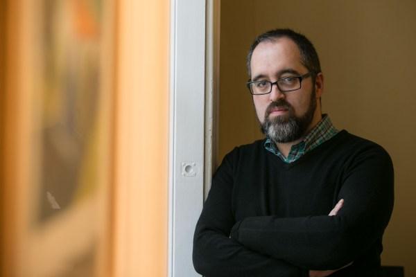 Fotografía de Víctor Fernández, escritor