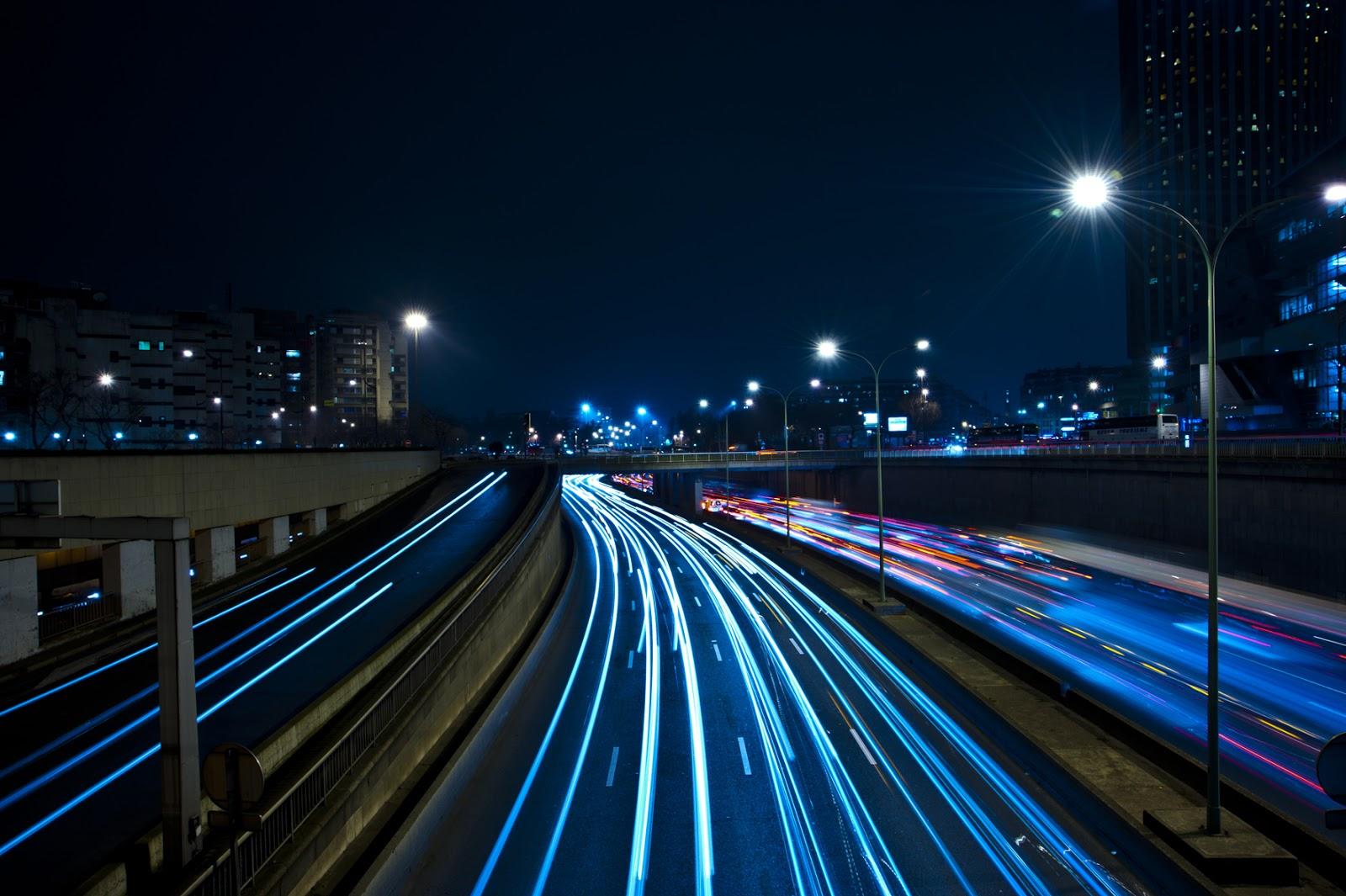 Car Lights Night Wallpaper Tesoro 6 Light Painting Pintando Con Luz El Cofre De