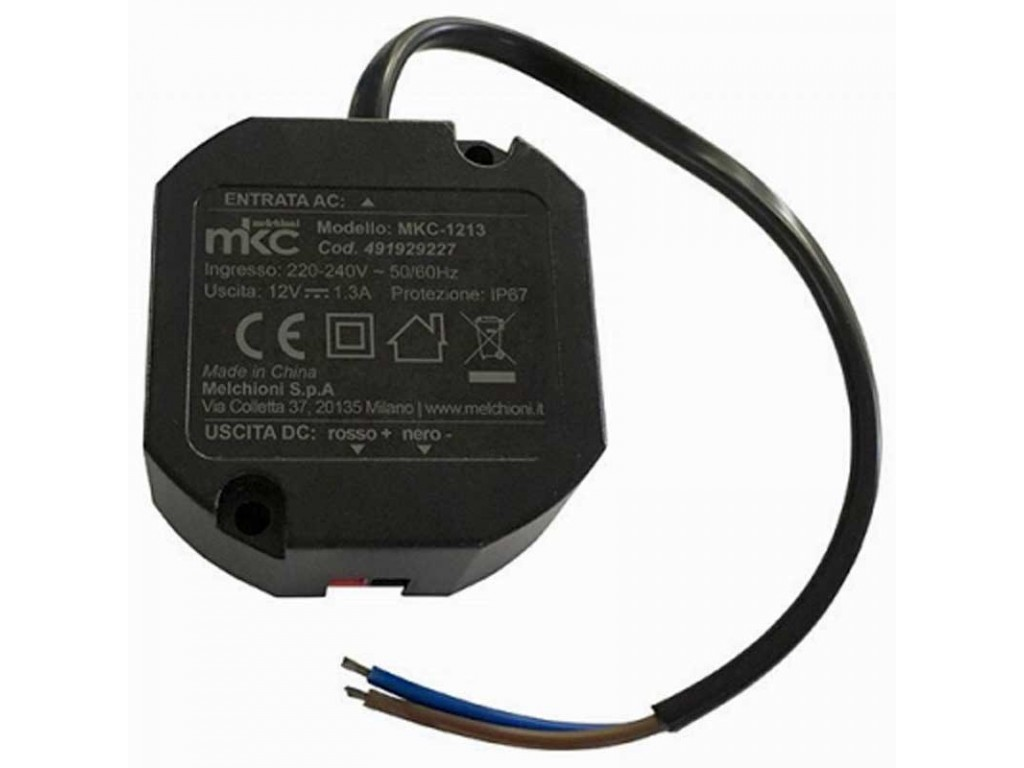 12v Ip67 Mkc 1213 Compact Switching Power Supply 12v 1 3a Ip67
