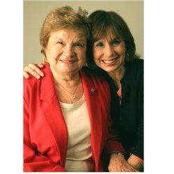 Joy Loverde, and her mother, Alba