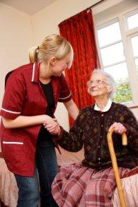 in home elderly care, caregiving