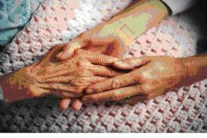 elderly skin care, elderly assistance