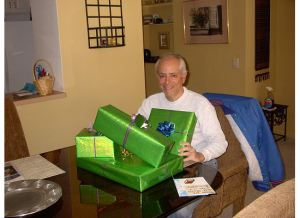 gift giving, aging parents
