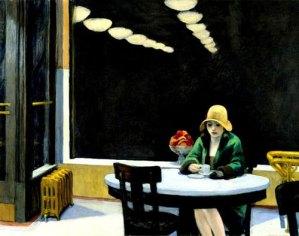 Automat, by Edward Hopper