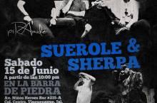 Pirámide y Suerole & Sherpa: Barra de Piedra, 15 de junio