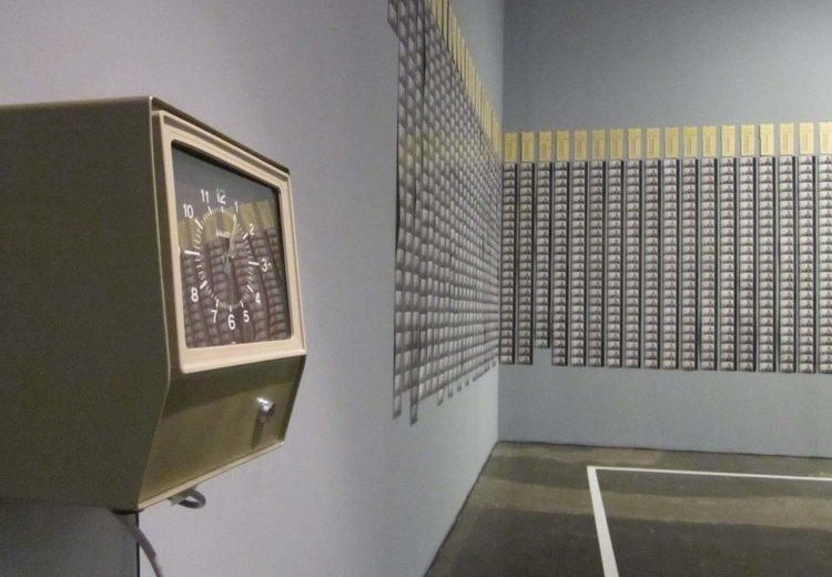 The time clock piece (1980-1981) de Tehching Hsieh