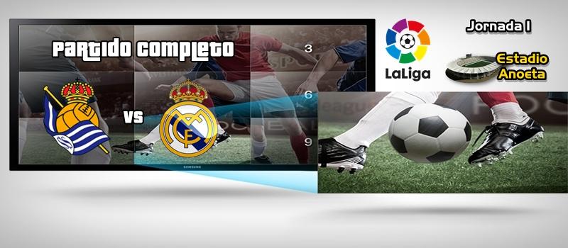 Partido completo | Real Sociedad vs Real Madrid | LaLiga | Jornada 1