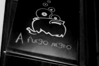 cartel a fuego negro