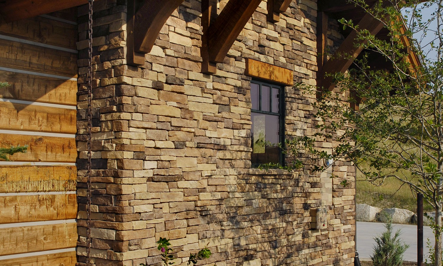 Eldorado Stone Veneer Fireplace Mountain Ledge Eldorado Stone