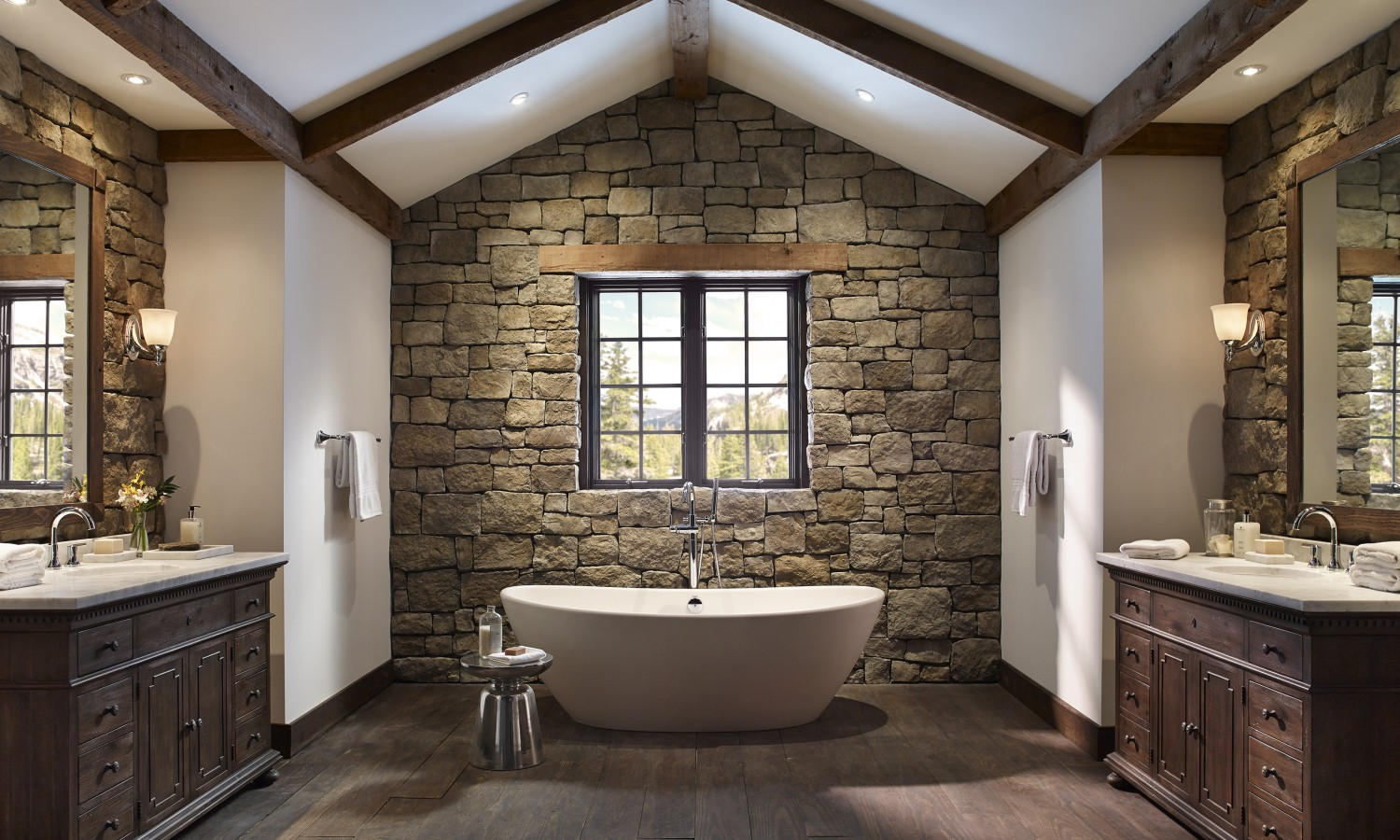 Stone Bathroom Designs Baths Eldorado Stone