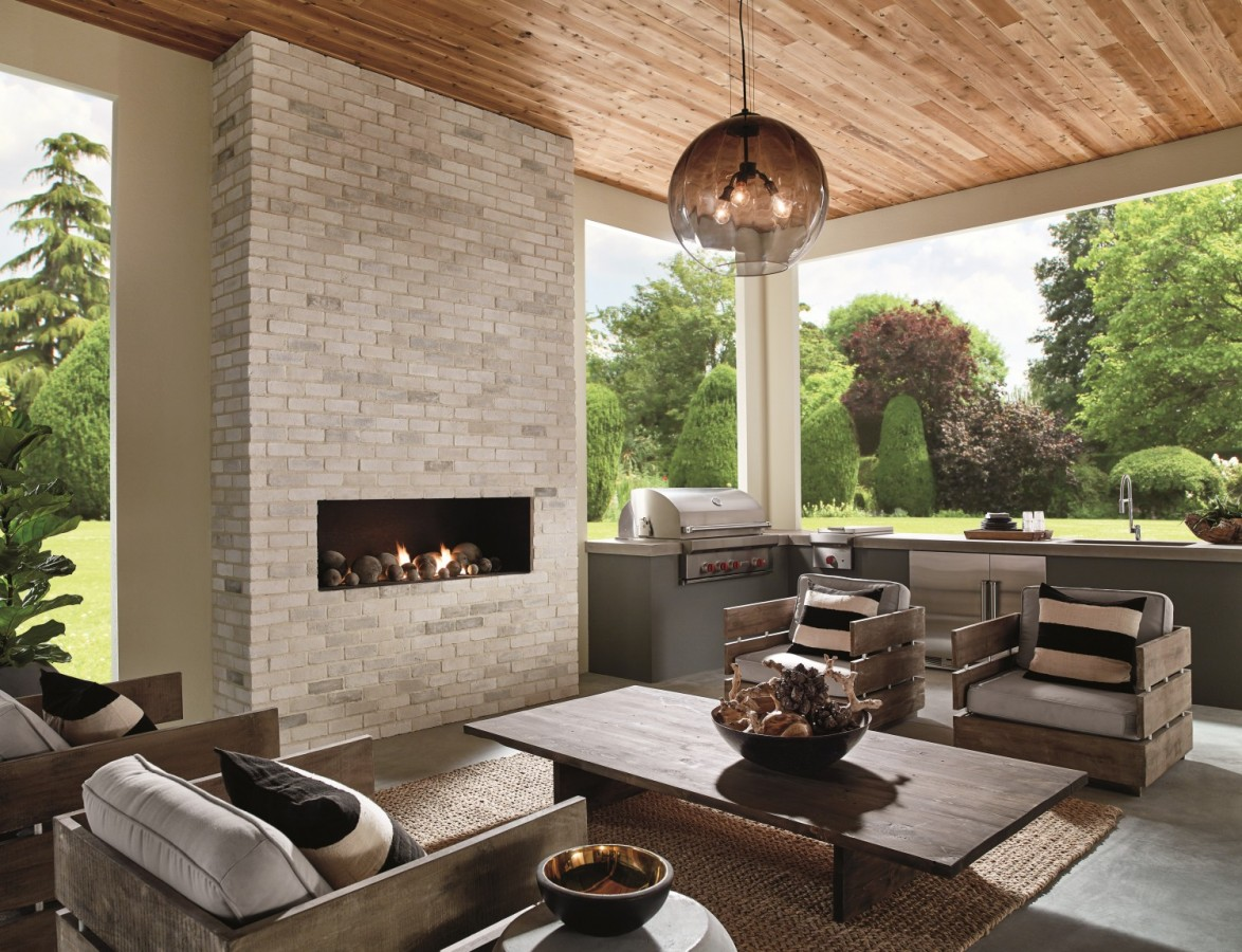 Eldorado Stone Veneer Fireplace Simply Sleek Eldorado Stone Introduces The Modern Collection