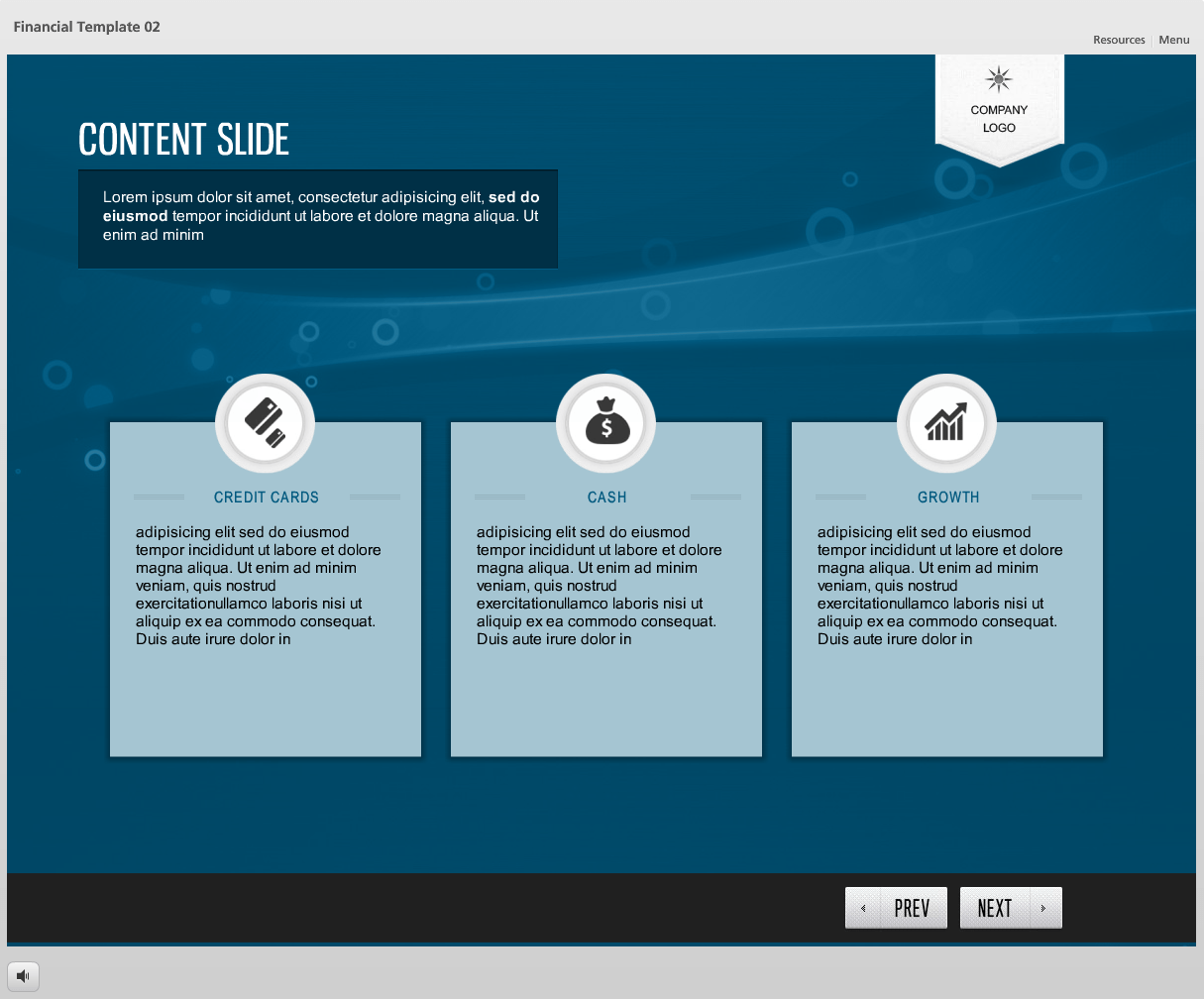 story line template