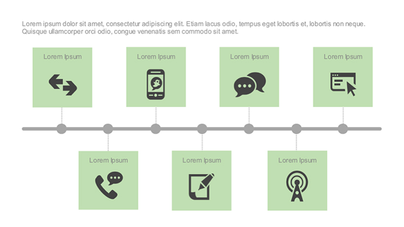 Adobe Captivate Template Of The Week Timeline With Text And Icon - timeline template