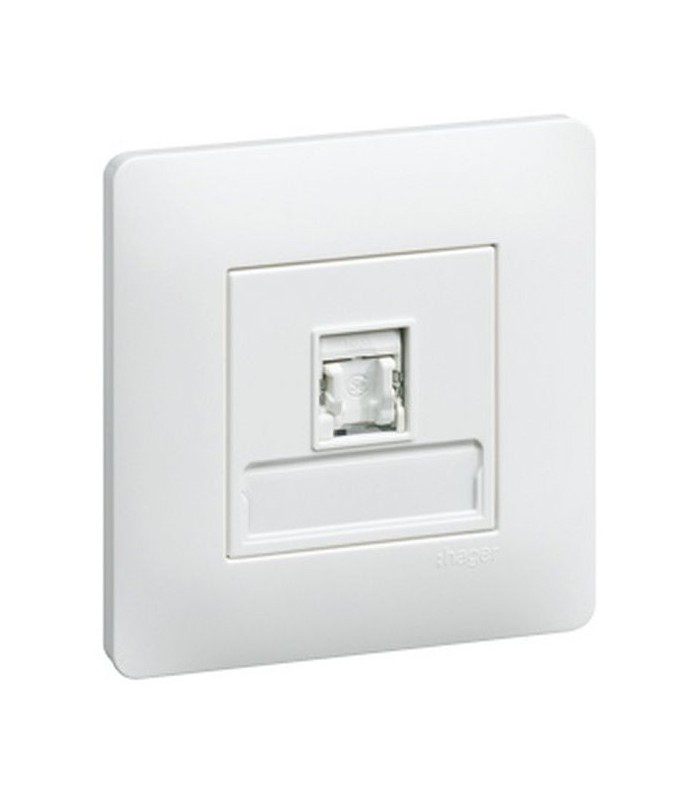 Spot Led Exterieur Legrand Prise Rj 45 Cat 5e Ftp Essensya C3118 - Hager | Elec Plus