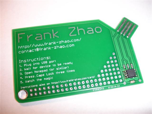 business card Eleccelerator