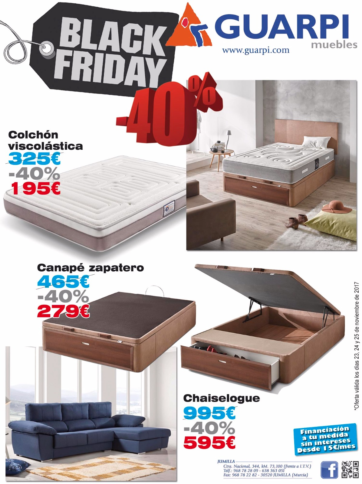 Canape Black Friday Black Friday En Guarpi Muebles El Eco De Jumilla