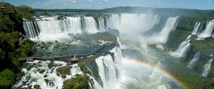 Iguazu Falls Brazil Wallpaper Lugares Fant 225 Sticos Electa Maleah