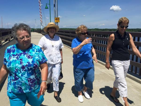 Walk and Talk on Veterans Bridge